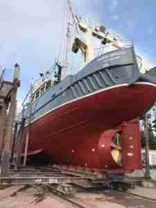 Ship in build