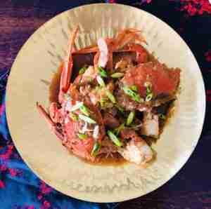 Singapore Chilli Crabs
