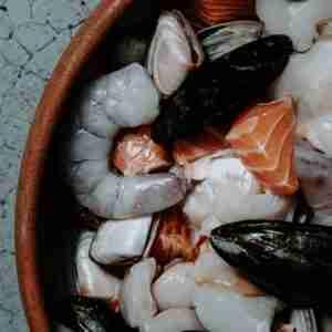 Seafood Marinara Mix Fresh 1kg Vacuum Pack