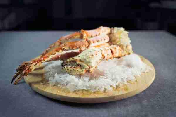 Cooked Antarctic King Crab